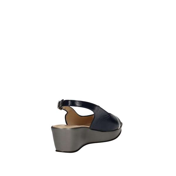 DONNA SOFT 7450 Blue Shoes Women