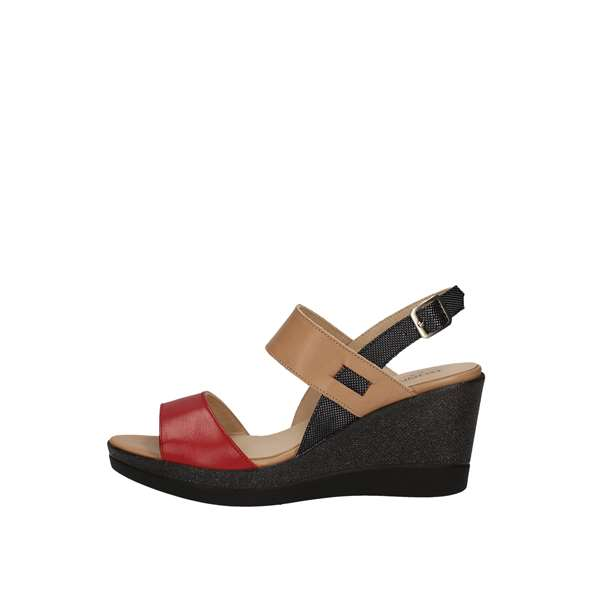 DONNA SOFT With wedge Red