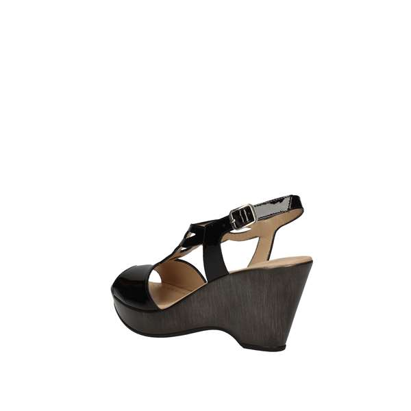 DONNA SOFT With wedge Black