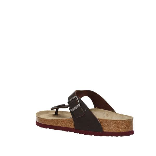 BIRKENSTOCK Flops Brown