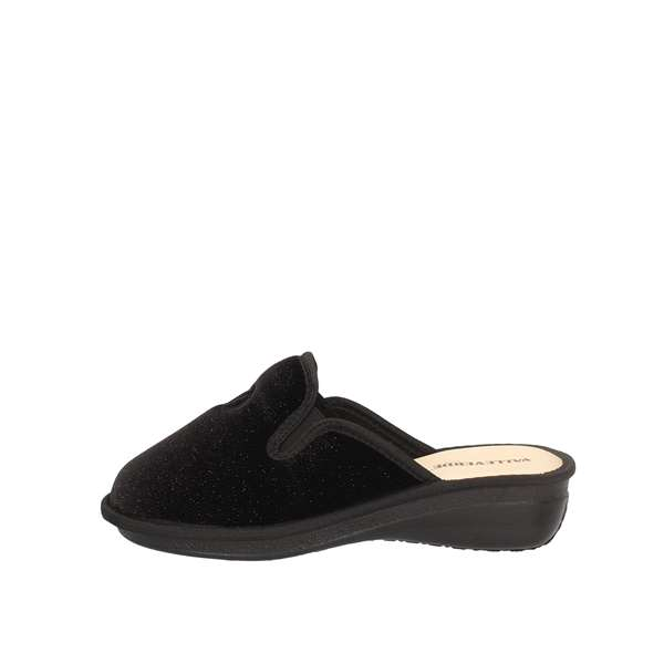 VALLEVERDELow shoes  slippers 37207 BLACK