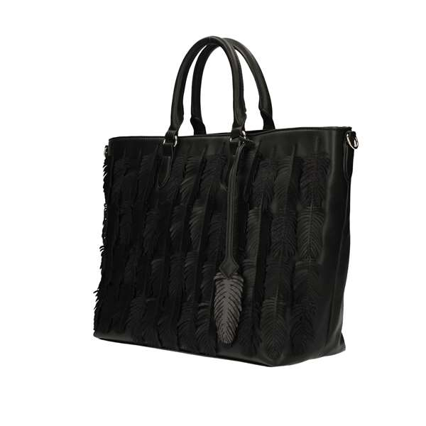 Y NOT Shopping bags Black
