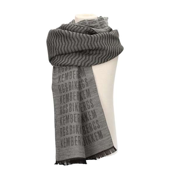 BIKKEMBERGS Scarves Grey
