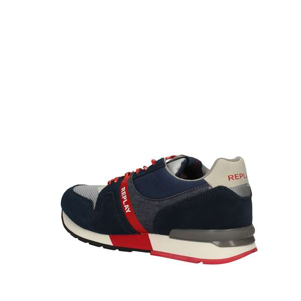 innovative design a542b a2db2 REPLAY SNEAKERS Uomo NAVY | Sorrentino