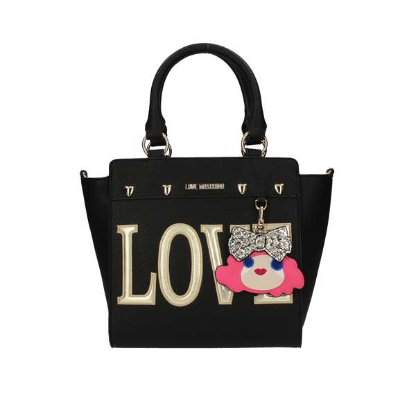 LOVE MOSCHINO Shopping bags Black