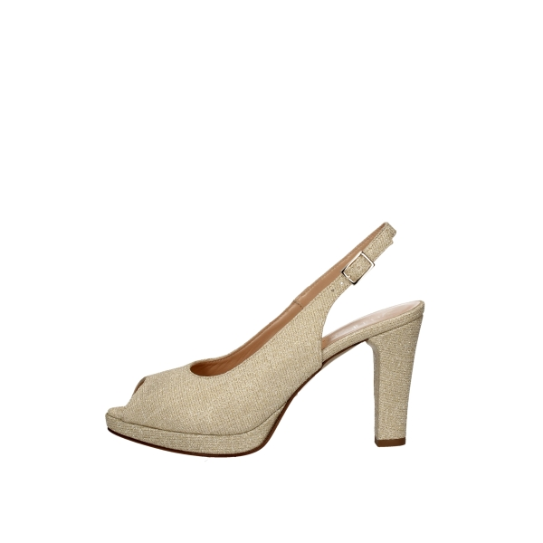 SOFFICE SOGNO With heel Platinum