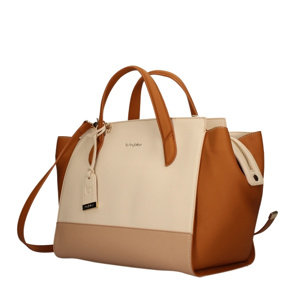 BYBLOS Shopping bags BEIGE