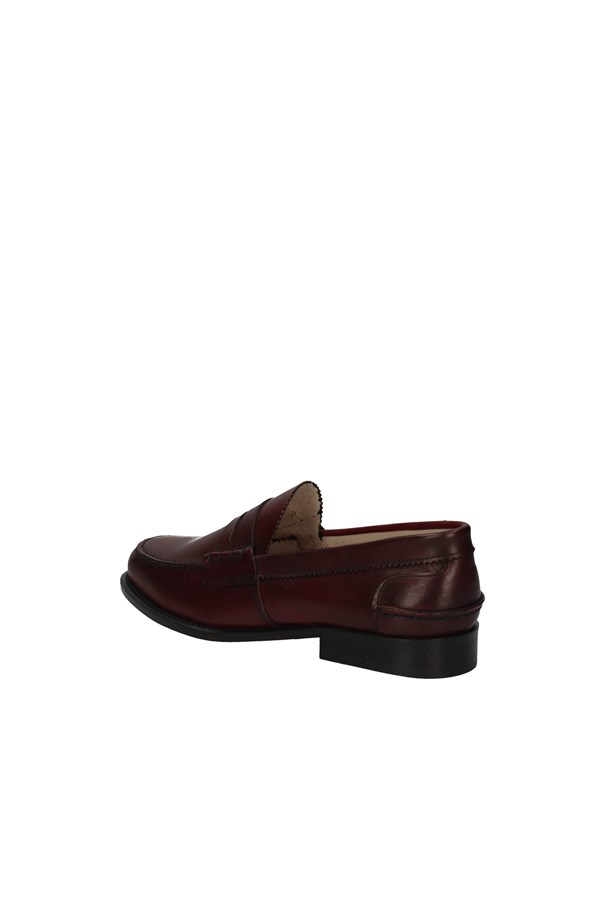 HUDSON MOCCASIN BORDEAUX