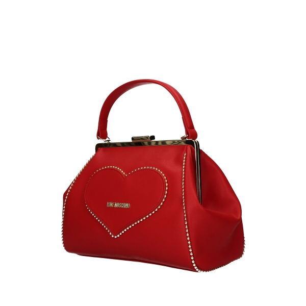 LOVE MOSCHINO Hand Bags RED