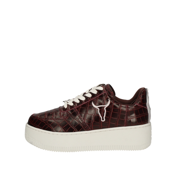WINDSOR SMITHSneakers  low RACERR BORDEAUX