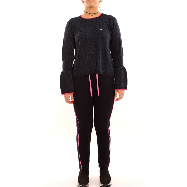 LIU JO crew-neck BLACK