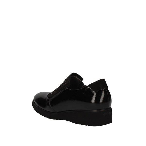 MELLUSO Loafers BLACK