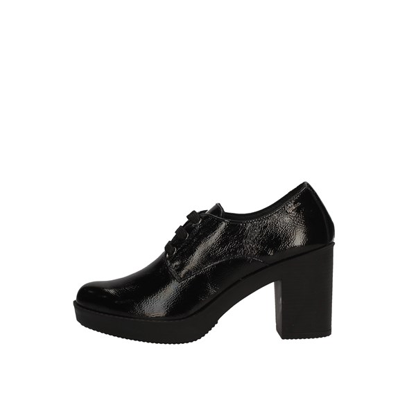 IGI&CO shoes with laces BLACK