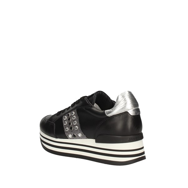 JANET SPORT  low BLACK