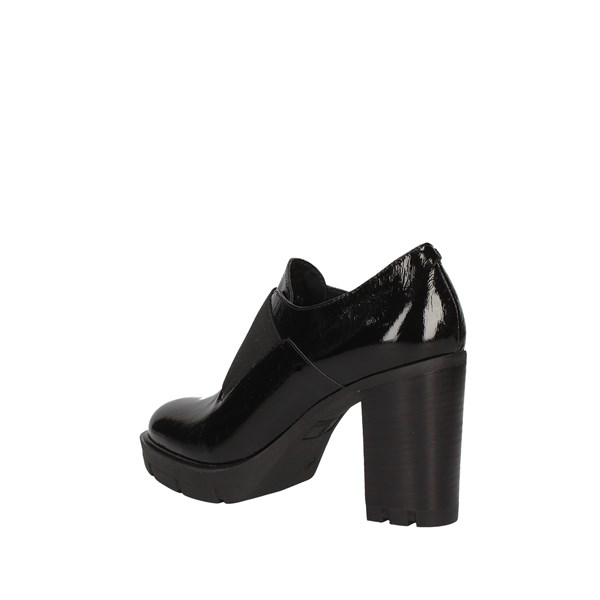 JANET SPORT shoes with laces BLACK