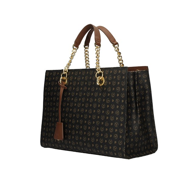 POLLINI Shopping bags BLACK