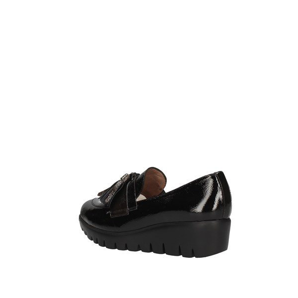 WONDERS Loafers BLACK