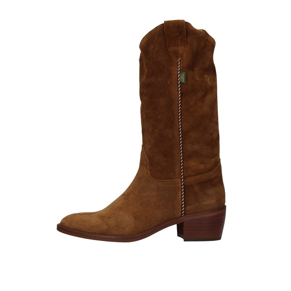 DAKOTA BOOTS Texans / biker BROWN