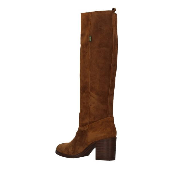 DAKOTA BOOTS Under the knee BROWN
