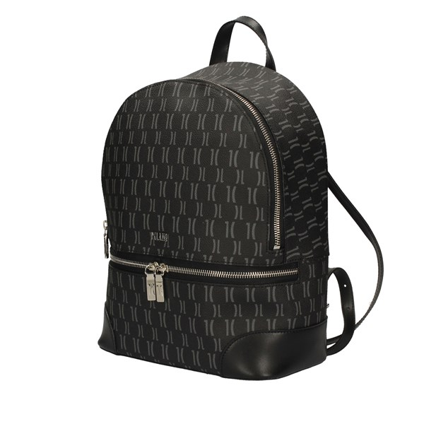 ALVIERO MARTINI Backpacks BLACK
