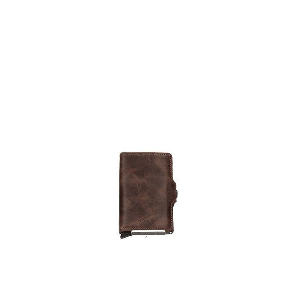 SECRID Card Holder CHOCOLATE