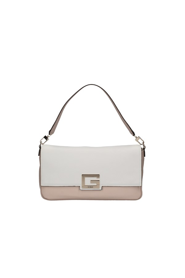 GUESS Shoulder Bags WHITE AND PINK