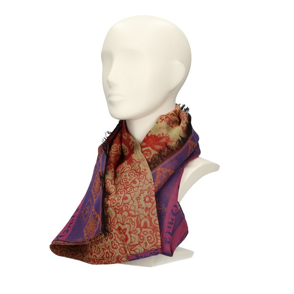 MANILA GRACE Scarves MULTICOLOR