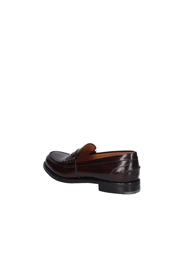 CHURCH'S Loafers BURGUNDY
