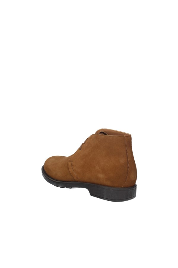 BRIAN CRESS ankle boots CURRY