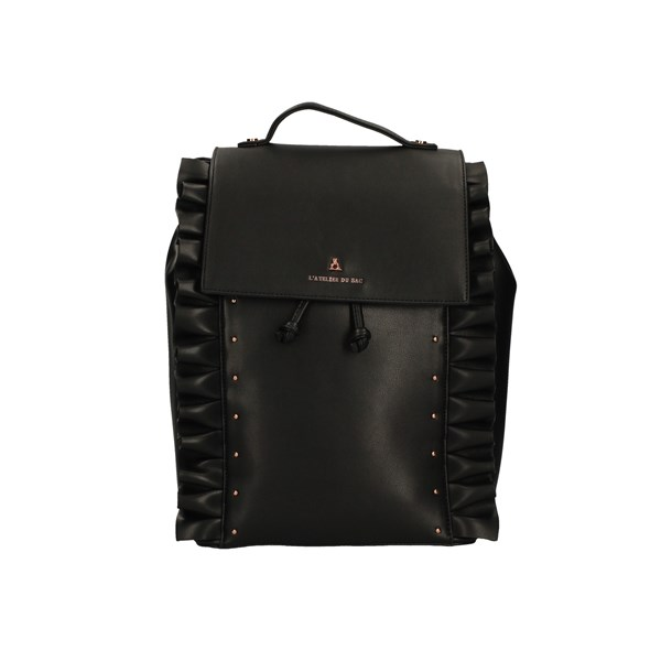 L'ATELIER DU SAC Backpacks BLACK