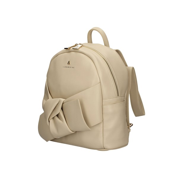 L'ATELIER DU SAC Backpacks SAND