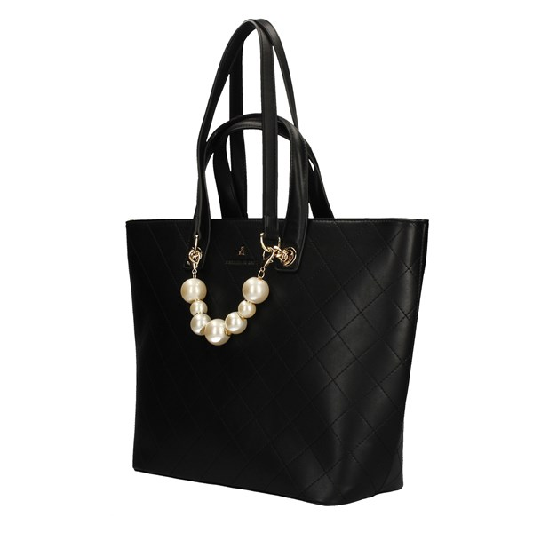 L'ATELIER DU SAC Shopping bags BLACK