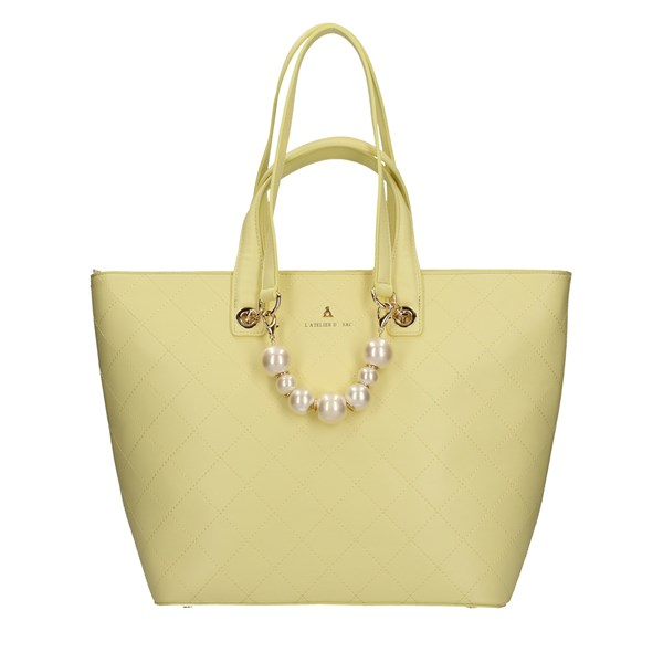 L'ATELIER DU SAC Shopping bags YELLOW