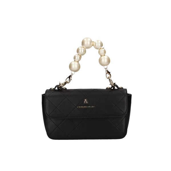 L'ATELIER DU SAC Shoulder Bags BLACK