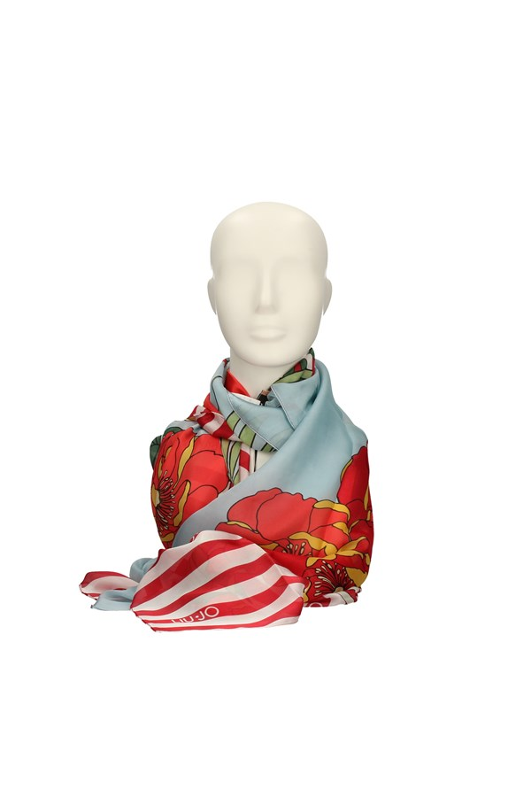 LIU JO Scarves LIGHT BLUE