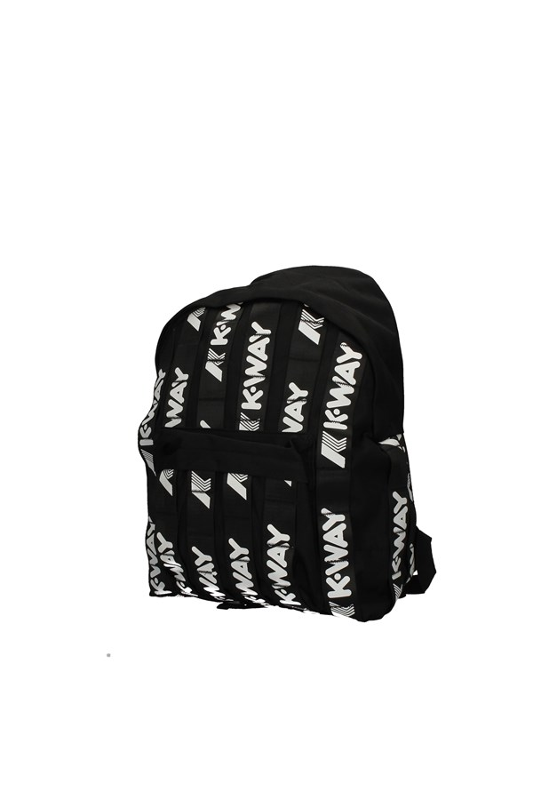 K-WAY Backpacks BLACK