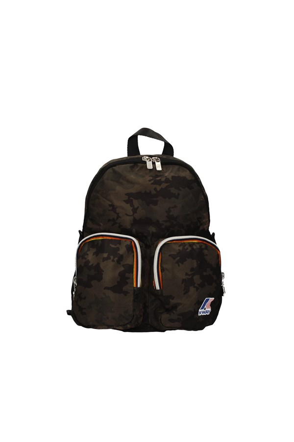 K-WAY BACKPACK MILITARY GREEN