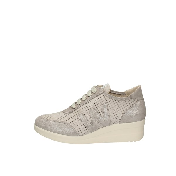 MELLUSO SNEAKERS SILVER