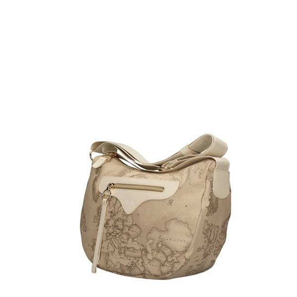ALVIERO MARTINI SHOULDER BAG RAFFIA