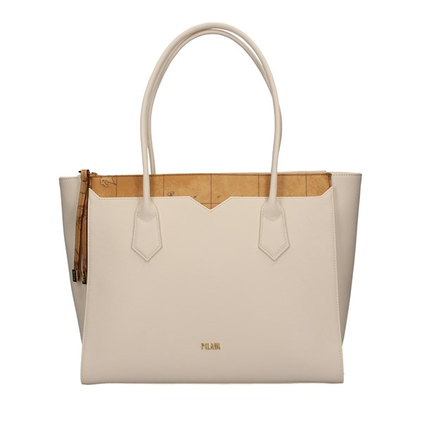 ALVIERO MARTINI SHOPPER WHITE