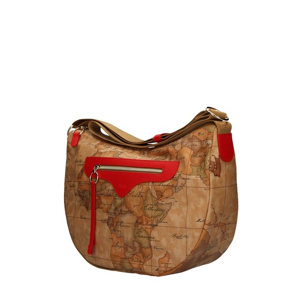 ALVIERO MARTINI SHOULDER BAG RED