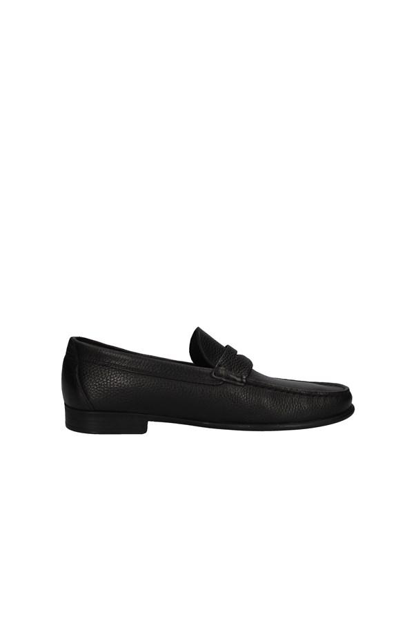 Valleverde 11832 scarpe uomo mocassini classici pelle nero