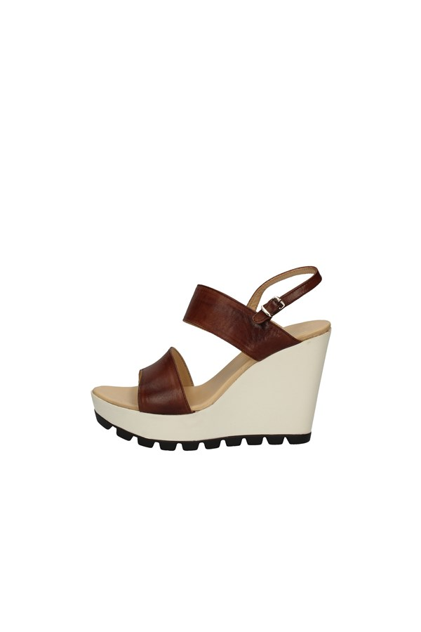 CAMPANILE WEDGES BROWN