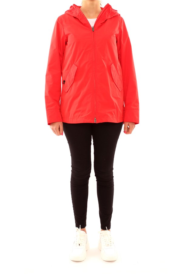 WOOLRICH Parkas RED