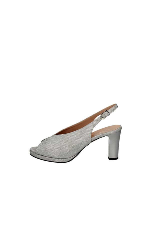 SOFFICE SOGNO With heel SILVER