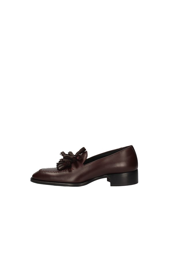 LOUIS LEEMAN MOCCASIN BORDEAUX