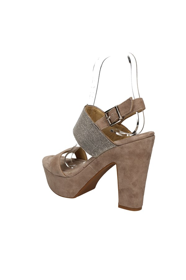 CAMPANILE With heel TAUPE