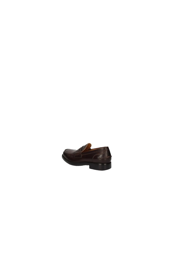 BRIAN CRESS Loafers BROWN