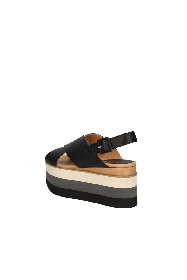 PALOMA BARCELO'  With wedge BLACK