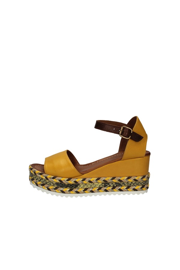 BUENO SHOES  With wedge YELLOW